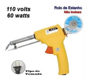 Pistola De Solda Automática 3ª Mão 110v 60w