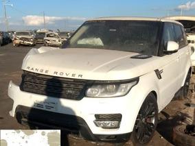 Land Rover Range Rover Sport 3.0 Sucata Blindada