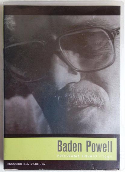 Dvd Baden Powell Programa Ensaio 1990 Frete Grátis