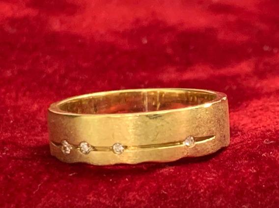 Anel H.stern Code De Ouro Com Diamante Com Mais De 30% Off!!