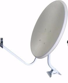 Kit C/ 2 Antenas Offset 60 Cm Banda Ku Medialink Completa