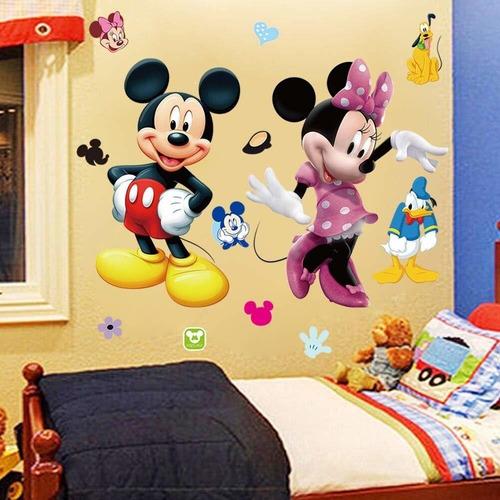 Mickey Minnie Mouse Kids Room Decor Disney Etiqueta De La