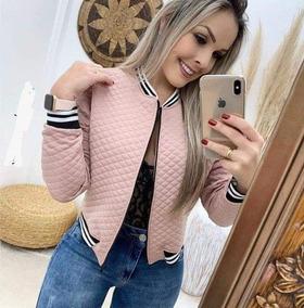 Jaqueta Feminina Colegial Metalassê Lançamento Inverno 2019