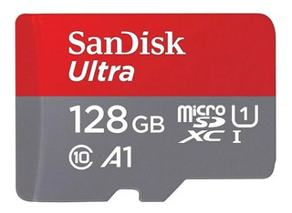 Cartão De Memória Sandisk Sdsquar-128g Squar-128g-gn6mn Ultr