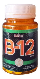 Vitamina B 12 500 Mcg Be Positive Apto Vegano 100 Tabletas