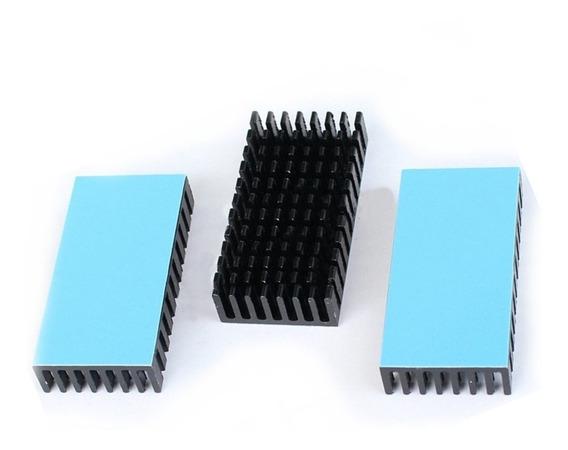 Kit 3 Dissipadores De Calor P/ Módulos Lm2596/lm2577/ Xl6009
