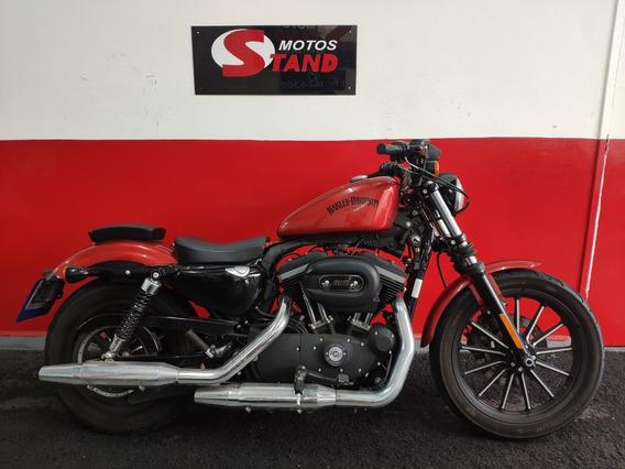 Harley Davidson Sportster Xl 883 N Iron 2013 Laranja