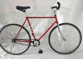 Bicicleta Usada Rod 28 Acero Empipado Impecable Estado!!