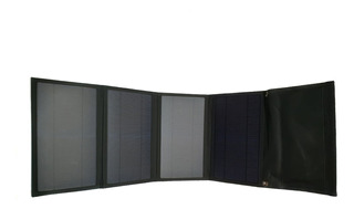 Cargador Solar 28w 5v Panel Solar Plegable Carg Usb Portátil
