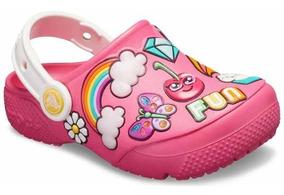 Zapato Crocs Infantil Fun Lab Parches Coloridos