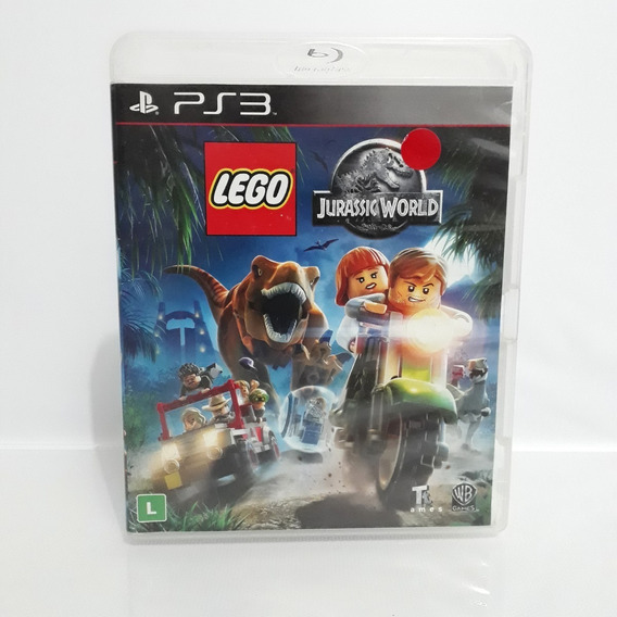 Jogo Lego Jurassic Park World Ps3 Playstation Original Raro!