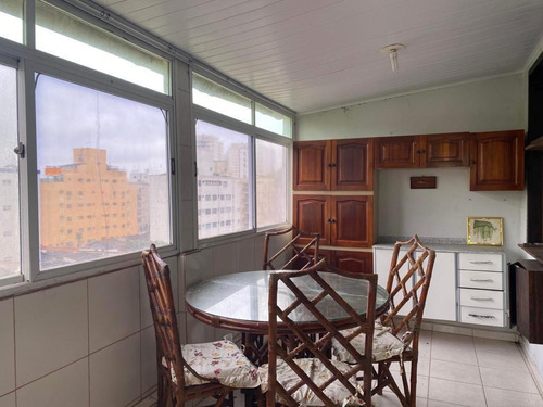Cobertura À Venda, 124 M² Por R$ 410.000,00 - Tombo - Guarujá/sp - Co0825