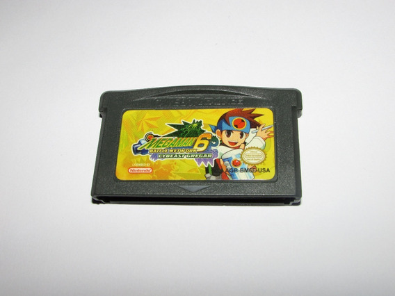 Megaman 6 Paralelo Para Game Boy Advance