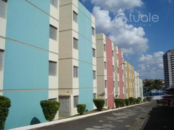 Apartamento Com 3 Dormitórios Para Alugar, 69 M² Por R$ 650/mês - Jardim Marchissolo - Sumaré/sp - Ap0988