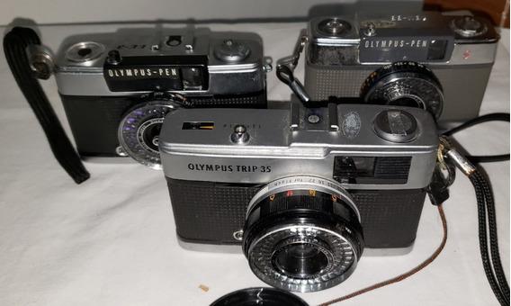 Olympus - Kit Com 3 Câmeras Fotográficas