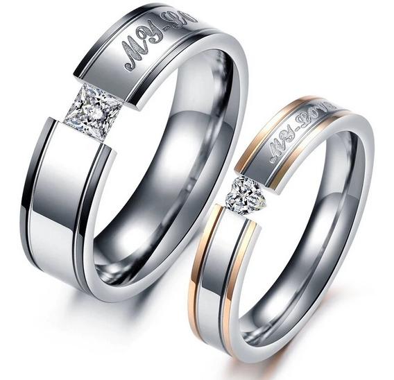 Anillo Ilusion Argollas Alianza Amor Pareja Novio Matrimonio