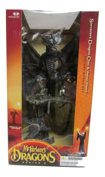 Mcfarlanes Dragons Series 3 Sorcerers Dragon Clan & Human