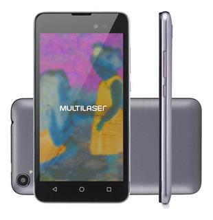 Smartphone Multilaser Ms50l, Quad Core, Android 7, Tela 5 ,