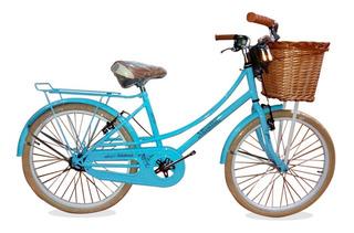Bicicleta Rodado 24 Paseo Vint Musetta S/int / Richard Bikes
