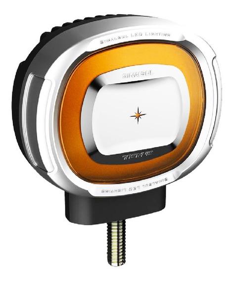 Lanterna Foguinho Maria Led Caminhão Bivolt 12v 24v Amarela