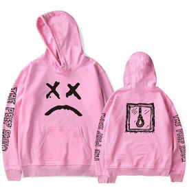 Blusa Moletom Lil Peep The Peep Show Emo Sad