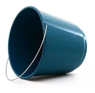 Kit 20 Balde Plástico Reforçado Água Roupa 8 Litros C/alça