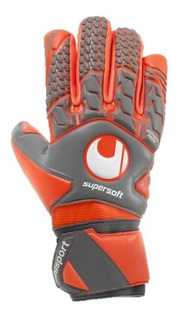 Guante De Arquero Profesional Uhlsport Aerored Supersoft Hn