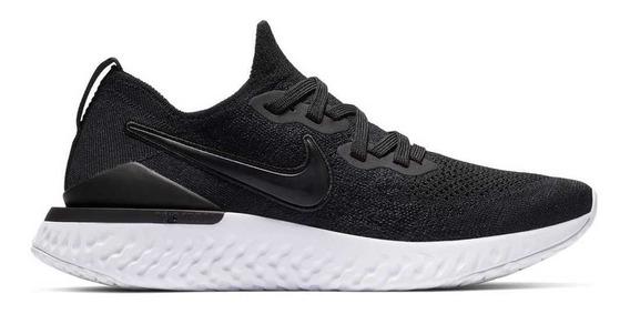 Tênis Nike Epic React Flyknit 2 Preto E Branco