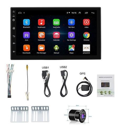 Radio Android Aplicaciones 2 Din Wifi Con Camara Gps Full Hd