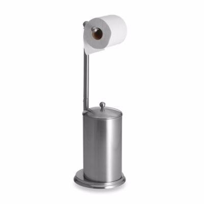 Porta Papel Higiênico Armazenamento Pedestal Banheiro