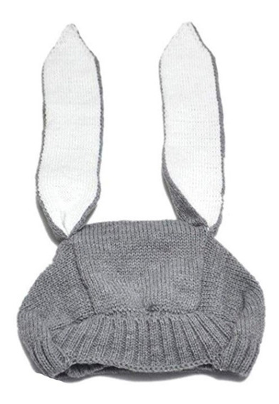 Hermoso Gorro Orejas De Conejo Capucha