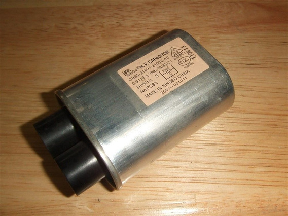 Elcomtecl Hch-212091c S 0,91 Uf 2100vac Capacitor Microondas
