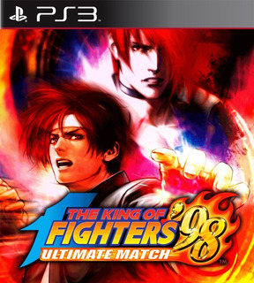 Kof 98 Ultimate Match The King Of Fighters - Inclui 98 Clássico - Jogos Ps3 Playstation 3