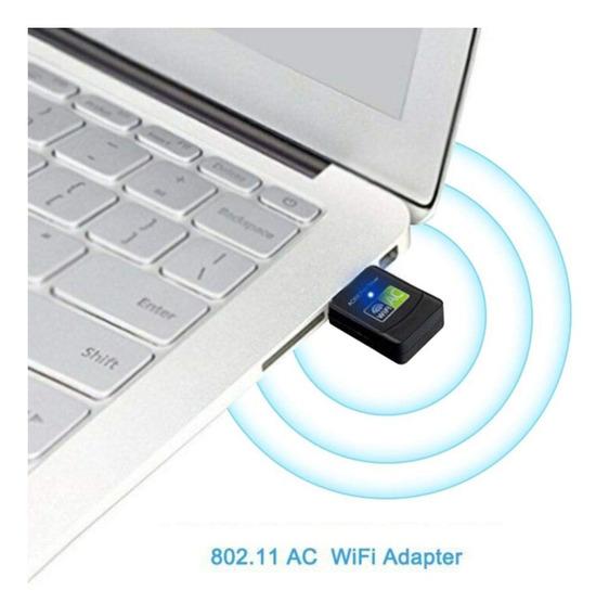 Wirel Usb Wifi Lan Adaptador De Internet 600mbps 802.11n Dua
