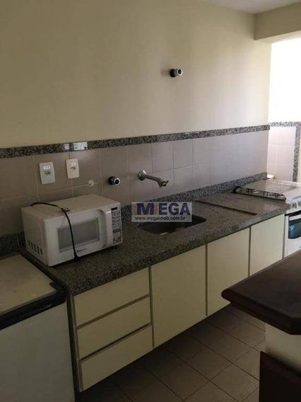 Flat Com 1 Dormitório À Venda, 50 M² Por R$ 300.000 - Cambuí - Campinas/sp - Fl0011