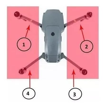 Motor Traseiro Para Dji Mavic Pro - Braço Arm- Direit/esquer