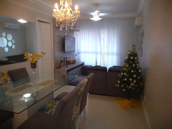 Apartamento Com 2 Dorms, Marapé, Santos - R$ 290 Mil, Cod: 11375 - V11375