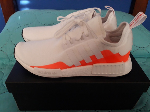 Zapatillas adidas Nmd_r1 White/solar Red (10us) Originals Ds