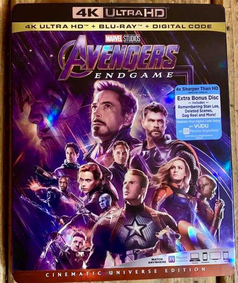 Avengers Endgame 4k Uhd Con Slipcover Nueva Sellada