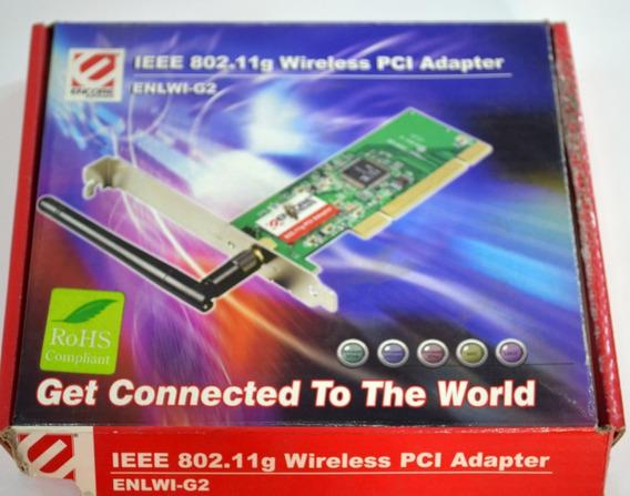 Tarjeta Adaptador Pci Wifi Encore 54 Mbps Tl Wn751nd