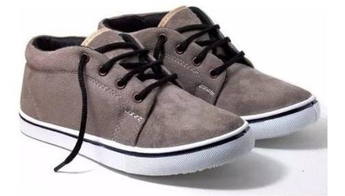 Zapatillas Botitas Gamuzadas Wembly 35 Al 45