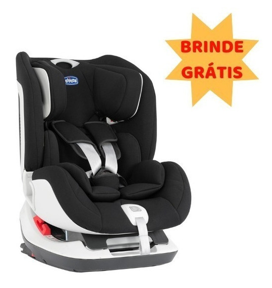 Cadeirinha Chicco Seat Up Isofix Reclinável - 0 A 25 Preta