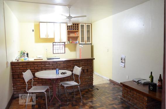 Casa Para Aluguel - Nossa Sra Das Graças, 1 Quarto, 40 - 893036910