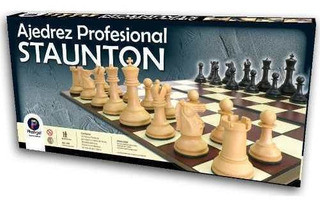 Ajedrez Profesional Staunton - Plastigal
