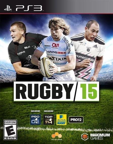 Jogo Rugby 15 Ps3 Mídia Física Lacrado Nota Fiscal