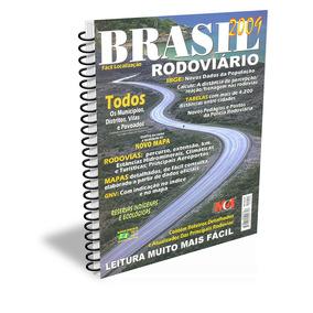 Guia Rodoviário Brasil Espiral Editora M4 Edição 2009