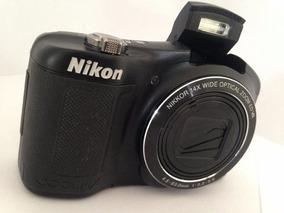 Camera Digital Nikon Coolpix L620 S/cabo/bateria