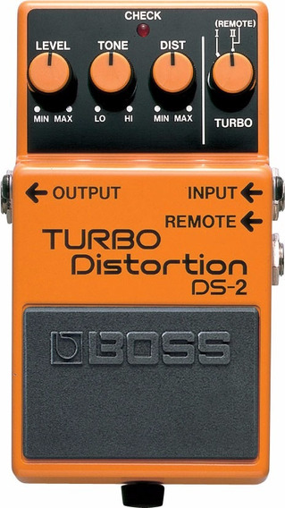 Pedal Boss Turbo Distortion Ds2 + Brinde + Fonte + Cabo