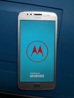 Celular Motorola G5s Cor Prata