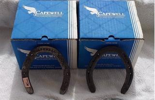 Caixa 30 Ferraduras Capewell N°6 Traseira (pé)